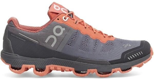ON 瑞士雲端科技跑鞋/慢跑鞋/路跑/馬拉松/野跑鞋 野跑雲 Cloudventure 124007 女款 高調灰