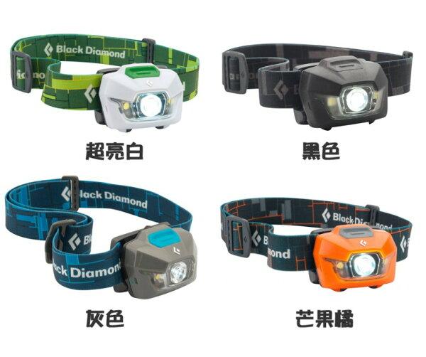 【露營趣】中和 Black Diamond Storm IPX7 防水LED頭燈 登山頭燈 100流明 620590 不含電池