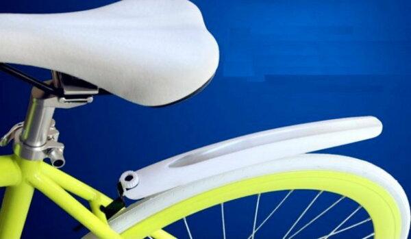 《意生》時尚八色反光快拆檔泥板 前後一組一車份快拆土除 自行車快拆擋泥板快拆式檔泥板