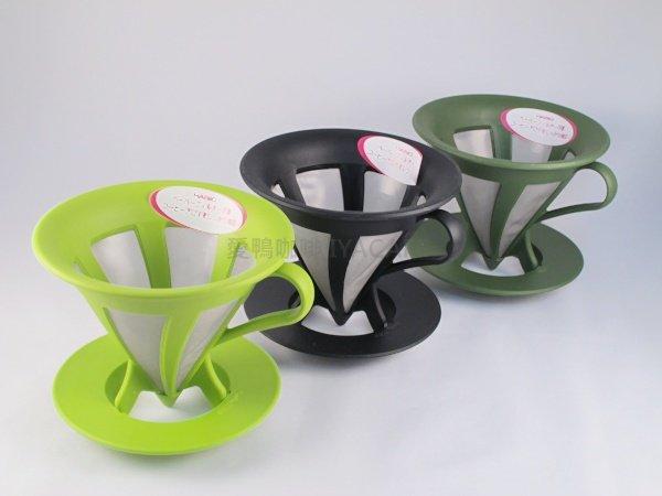《愛鴨咖啡》Hario CFOD-02 環保 免濾紙 不銹鋼 濾網 1-4杯用 濾杯