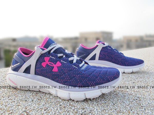 Shoestw【1258728-540】UNDER ARMOUR Speedform Fortis 紫桃紅 慢跑訓練鞋