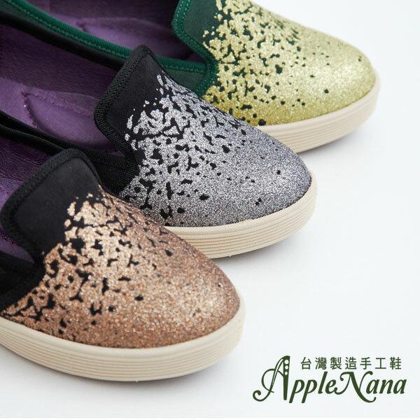 AppleNana。羽量化新氣墊。韓系甜蜜糖霜晶亮腳窩支撐樂福懶人鞋【QD51171380】蘋果奈奈 2