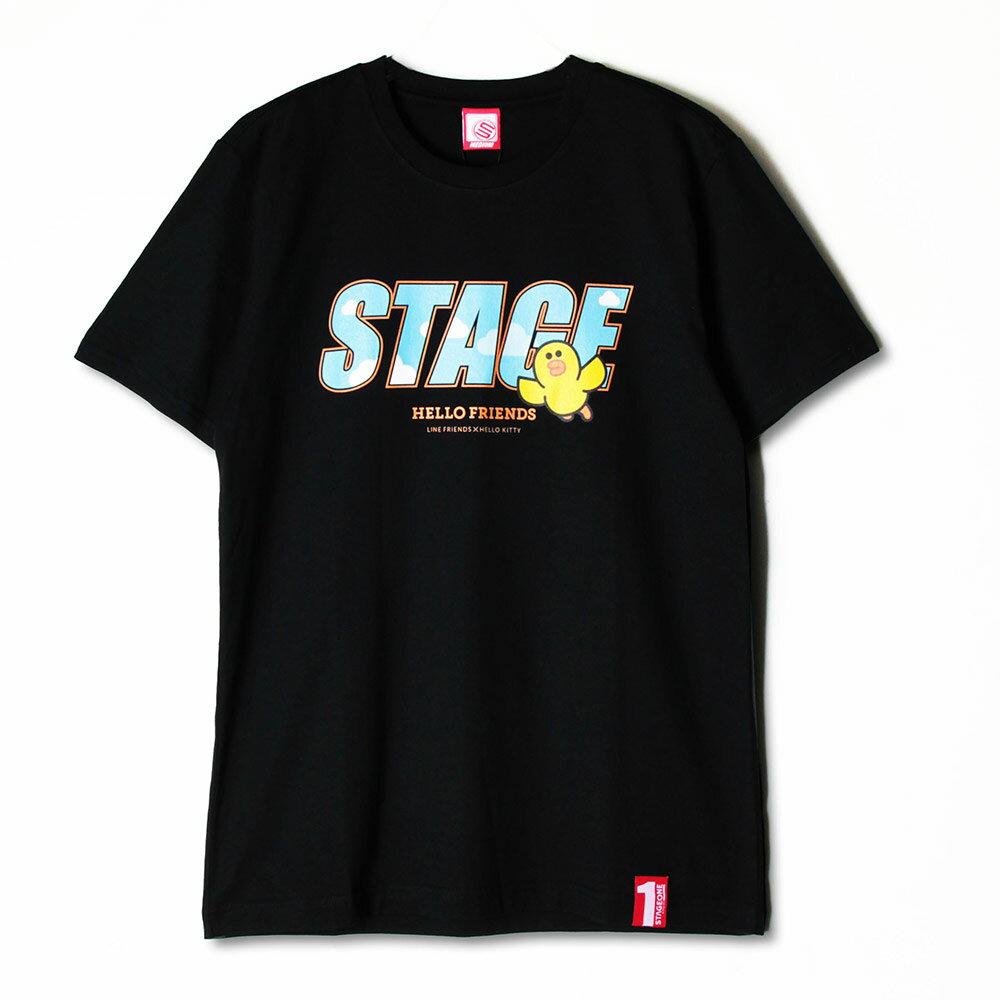 STAGE x HELLO FRIENDS 聯名限定 FRIENDS SALLY ON STAGE TEE 3