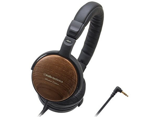 {音悅音響MUSIC HI-FI}日本 audio-technica ATH-ESW9LTD 木製機殼便攜型耳罩式耳機