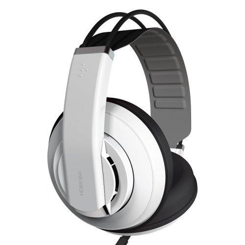 {音悅音響MUSIC HI-FI}SUPERLUX HD681EVO 半開放式監聽 耳罩式耳機 公司貨 白色