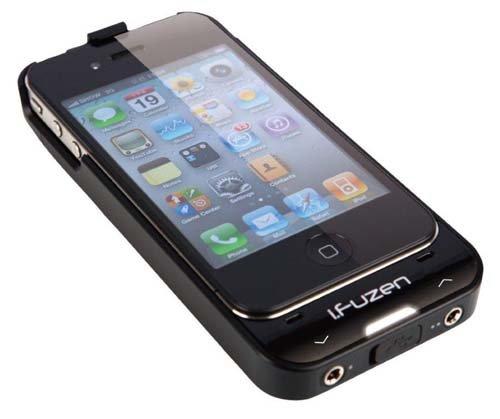 {音悅音響MUSIC HI-FI}i.Fuzen HP-1 iPhone4/4s專用 隨身耳機擴大機 行動電源 黑色有現貨 公司貨