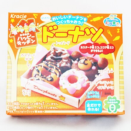 【敵富朗超巿】Kracie快樂廚房-甜甜圈(賞味期限至2016.10.31) 0