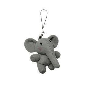大象幼稚園手機吊飾
