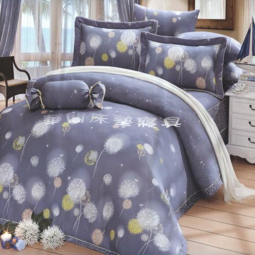 *華閣床墊寢具*《英雪紛飛》單人2件式精梳棉床包組{床包+枕套*1) 3.5*6.2(不含被套) 台灣精製 MIT