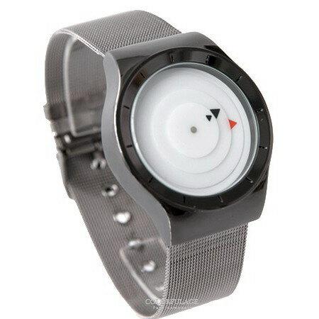 手錶 三角箭頭指針羅盤設計鋼索腕錶 創意感十足 中性款式男女都可戴 柒彩年代【NE1836】單支售價 - 限時優惠好康折扣