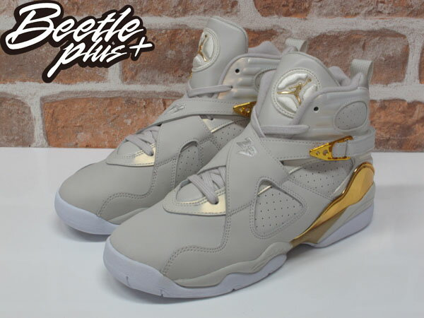 女生 BEETLE NIKE AIR JORDAN 8 RETRO C&C 冠軍 喬丹 白金 愷樂 833378-030 1