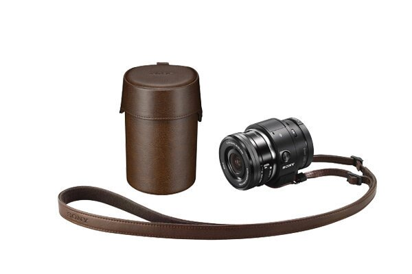SONY LCS-QXA ILCE-QX1 鏡頭袋 專用攜行包 附背帶及登山扣 台灣索尼公司貨  SELP1650 SEL20F28 QX1L