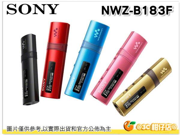 送卡通收納袋 SONY NWZ-B183F 4G MP3 B183 台灣索尼公司貨18個月保固