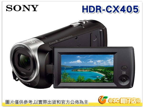 送原廠包+副電+清潔組+保護貼 SONY HDR-CX405 數位攝影機 台灣索尼公司貨 二年保固
