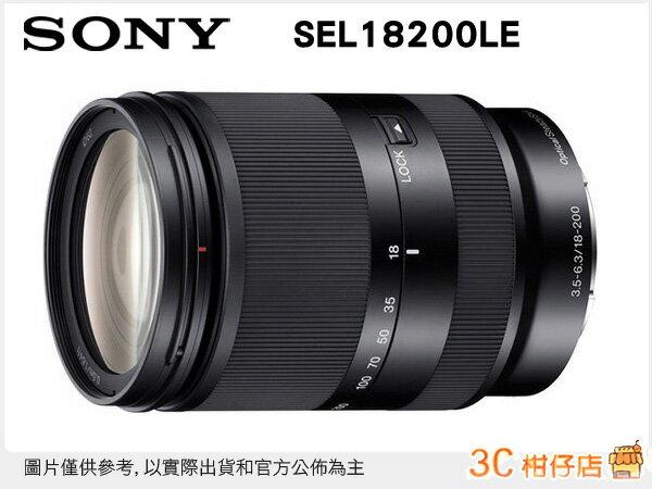 送保護鏡/ SONY SEL18200LE E18-200mm F3.5-6.3 OSS LE 變焦望遠鏡頭 NEX E接環 台灣索尼公司貨