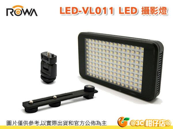 樂華 ROWA LED-VL011 內建鋰電池 LED 攝影燈 輕巧 薄型 補光燈 USB充電 行動電源