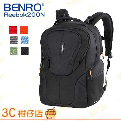 百諾 BENRO  銳步雙肩包 Reebok 200N 攝影背包 1機2鏡1閃 長鏡 14吋 筆電 平板 可掛腳架 附防雨罩 D800 D7100 D7000 D5200