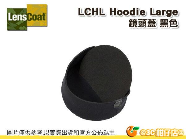 美國 Lenscoat LCHL 鏡頭蓋 保護套 大 Hoodie Large 黑色 防水 砲衣