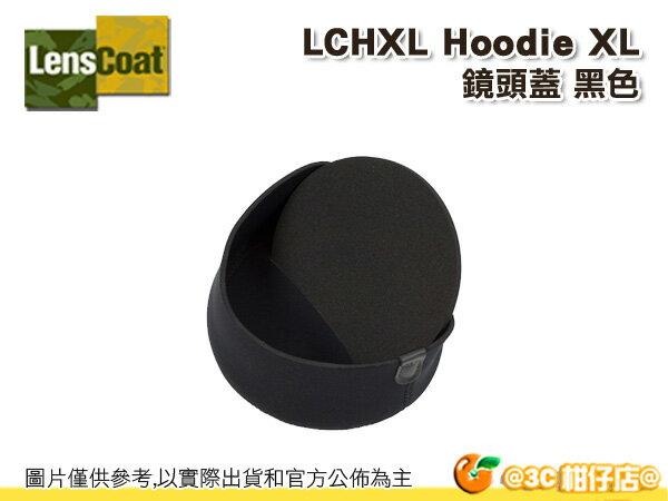 美國 Lenscoat LCHXL 鏡頭蓋 保護套 特大 Hoodie XLarge 黑色 防水 砲衣