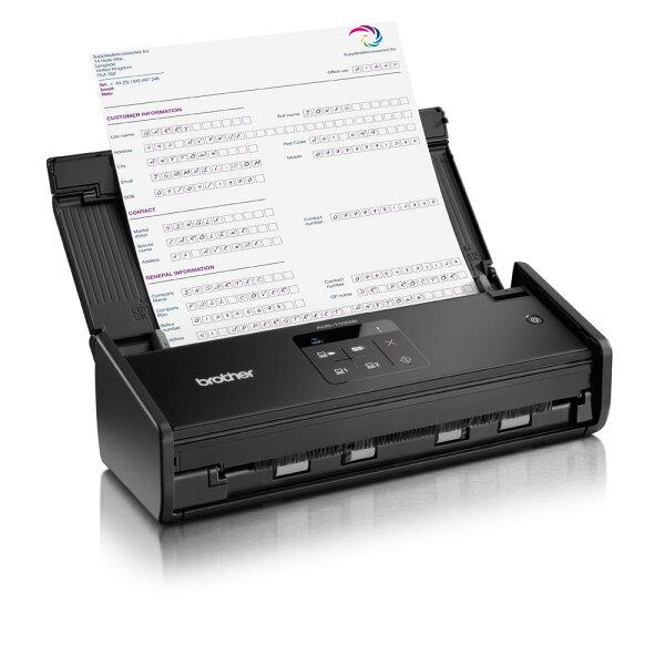 【免運*授權維修中心】brother ADS-1100W 原廠保固 高效智慧掃描機 另有ADS-1600W/ADS-2000/DS-620/DS-720D