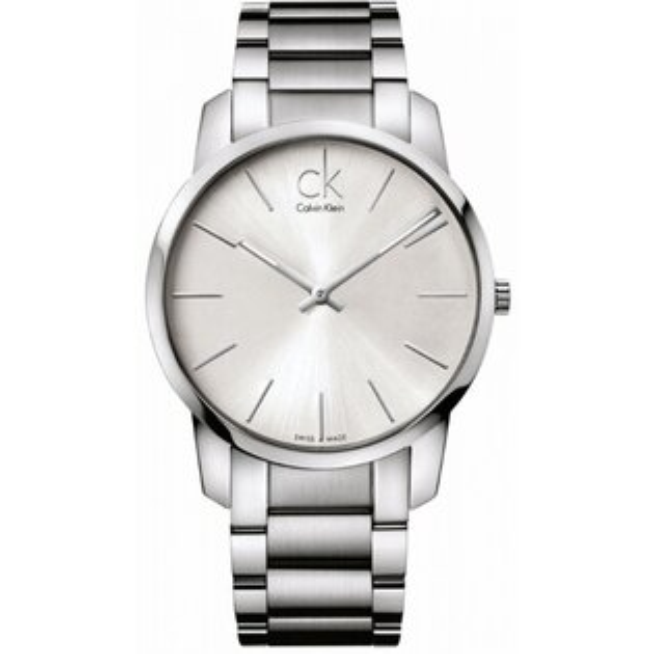 CK CITY(K2G21126+K2G23126)城市經典簡約腕錶/白面43+31mm