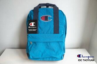 ►法西歐_桃園◄ Champion Backpack 日版 尼龍 電繡 Logo 後背包 可手提式 深藍 藍綠 桃紅 共三色 藍綠