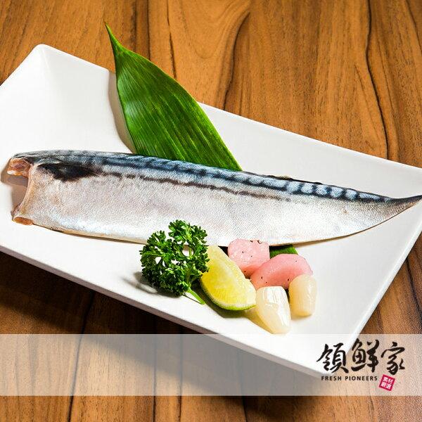 【領鮮家】嚴選薄鹽☆L級挪威鯖魚片~180g±5%~另有6片1kg及35片6kg裝