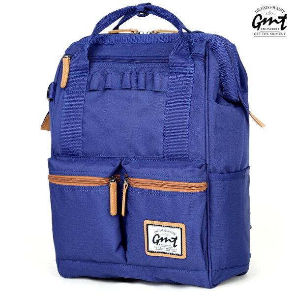 E&J【011016-03】免運費,GMT挪威潮流品牌 大容量後背包 藍色 ;旅遊包/登山包/雙肩背包/運動/媽媽包