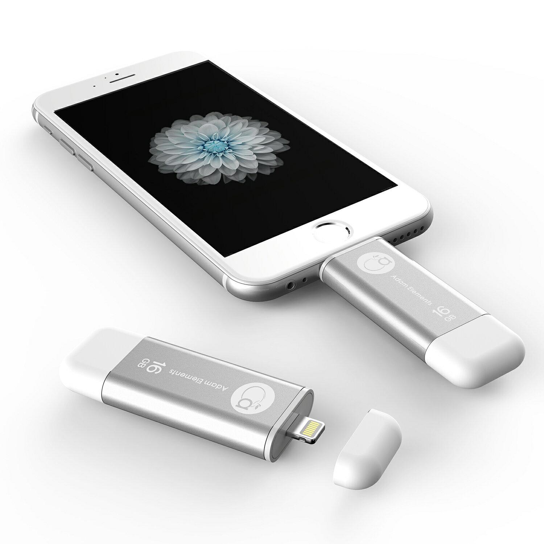 【亞果元素】iKlips iOS系統行動碟 16GB 銀色 1
