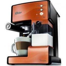 ◤贈OSTER磨豆機+LAICA 濾水壺◢ 美國 OSTER 奶泡大師義式咖啡機 -銅橘色 BVSTEM6601C
