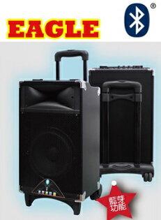 EAGLE 方便攜帶式可移動拉桿型有源音箱 ELS-3008