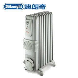 迪朗奇九片熱對流暖風葉片式電暖器 KR790915V●義大利原裝進口