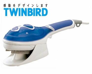 日本TWINBIRD 手持式蒸氣熨斗(粉藍) SA-4084TW