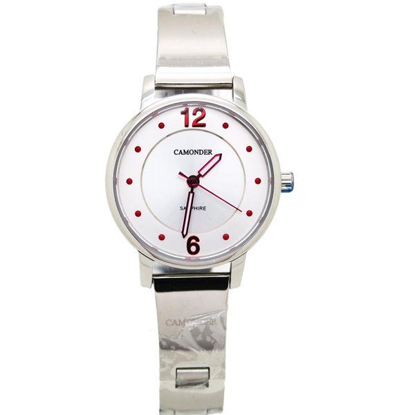 《好時光》CAMONDER 卡蒙迪  極簡設計師風格款 不鏽鋼時尚女錶 水晶鏡面