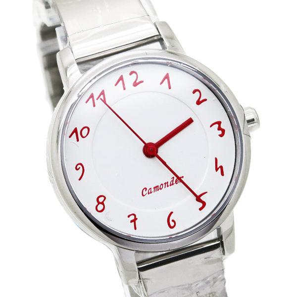 《好時光》CAMONDER 卡蒙迪 經典數字 極簡風格 不鏽鋼時尚女錶 水晶鏡面-小b風