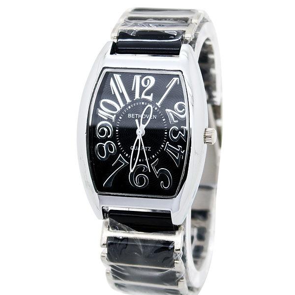 《好時光》BETHOVEN 經典酒桶型 清晰數字 時尚陶瓷女錶 男錶 對錶 (防水)單支價格