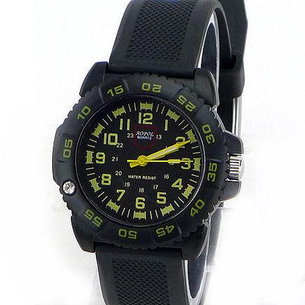 《好時光》AOPOL 個性迷彩軍錶風 可旋轉框 防水石英女錶/男錶/兒童錶-小款