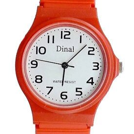 《好時光》Dinal 超輕量薄型清晰數字防水石英男錶/女錶/兒童錶