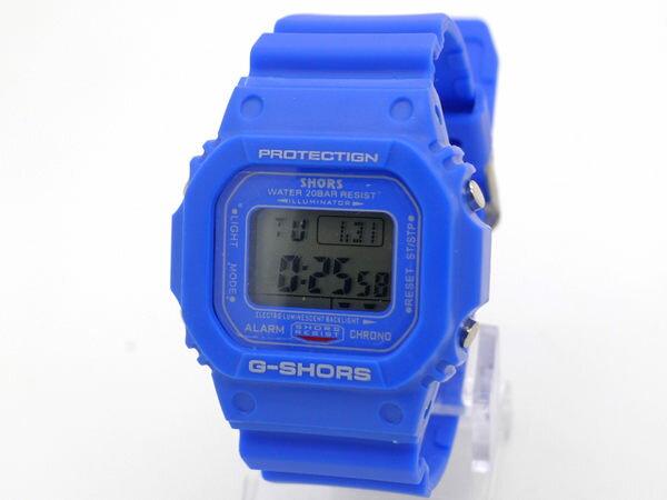《好時光》G-SHORS 經典風格 多功能防水電子錶(男錶/女錶)紅/黃/黑/紫/藍/白