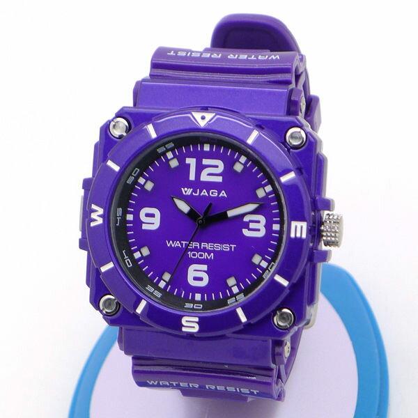 《好時光》JAGA 捷卡 AQ934 軍錶風大數字運動休閒指針錶 冷光 防水100M 男錶/女錶 當兵 開學
