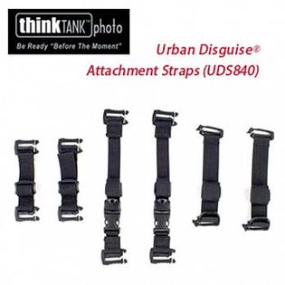 Think Tank ThinkTank  創意坦克  彩宣公司貨 Urban Disguise Attachment Straps -配件帶(UDS840)