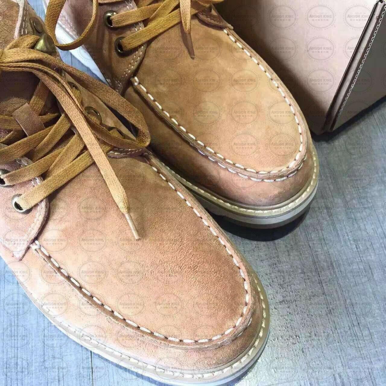 OUTLET正品代購 澳洲 UGG 新款冬季男款貝克漢 皮毛一體 短靴 保暖 真皮羊皮毛 雪靴 短靴 駝色 1