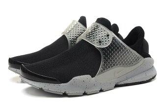 fragment design x NIKE Sock Dart SP Lode 藤原浩 黑/灰潑墨 男女情侶鞋