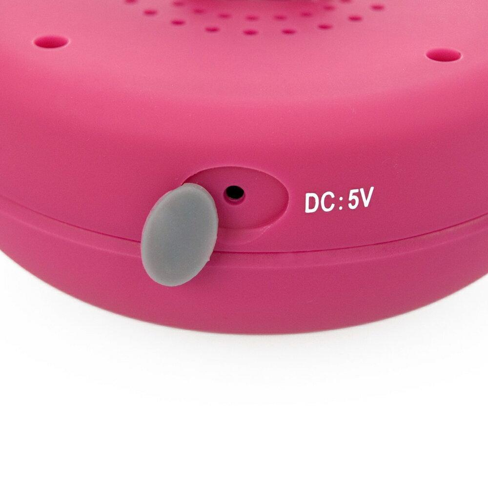 Altavoz Acuático Rosa Waterproof con Ventosa, Bluetooth y Manos Libres 2