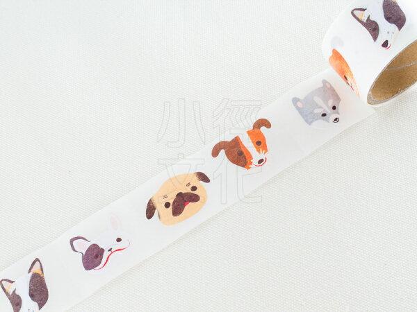 *小徑文化*日本進口 Amifa Roll Stickers - Dog ( 34578 )
