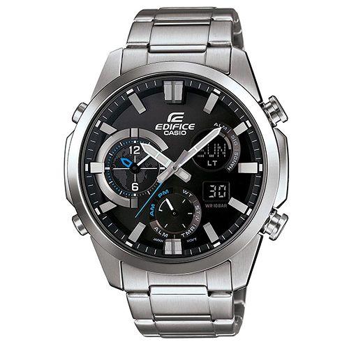 CASIO EDIFICE ERA-500D-1A科技感流行時尚腕錶/黑面45mm