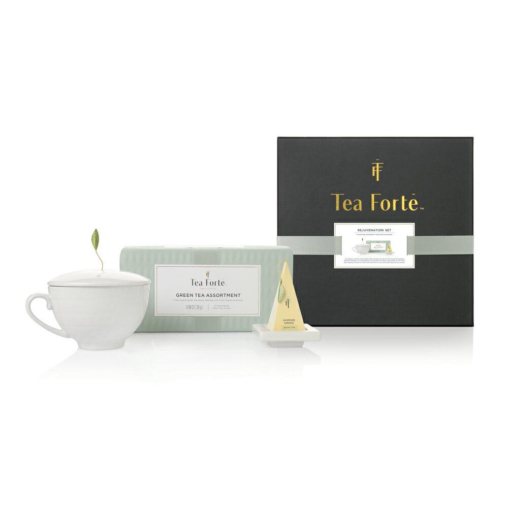 Tea Forte 單人獨享 茶品茶具禮盒 Rejuvenation Gift Set 0