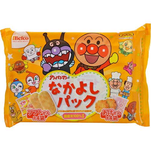 [下殺特價]【Befco栗山米果】麵包超人綜合米果-友情包 (140g)