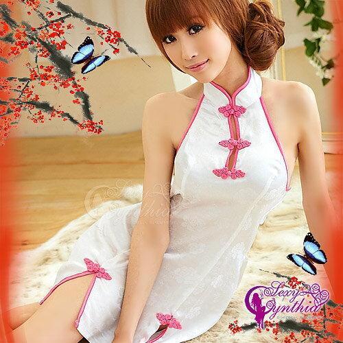嬋娟愛戀!美背旗袍裝  角色扮演 cosplay 情趣用品