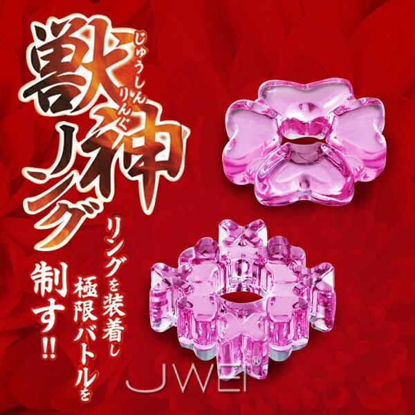 日本原裝進口WINS.獣神リング持久鎖精環2入 持久激情套環